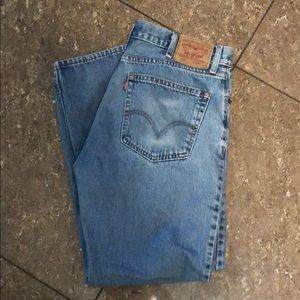 Levi's 505 Straight Fit Jeans